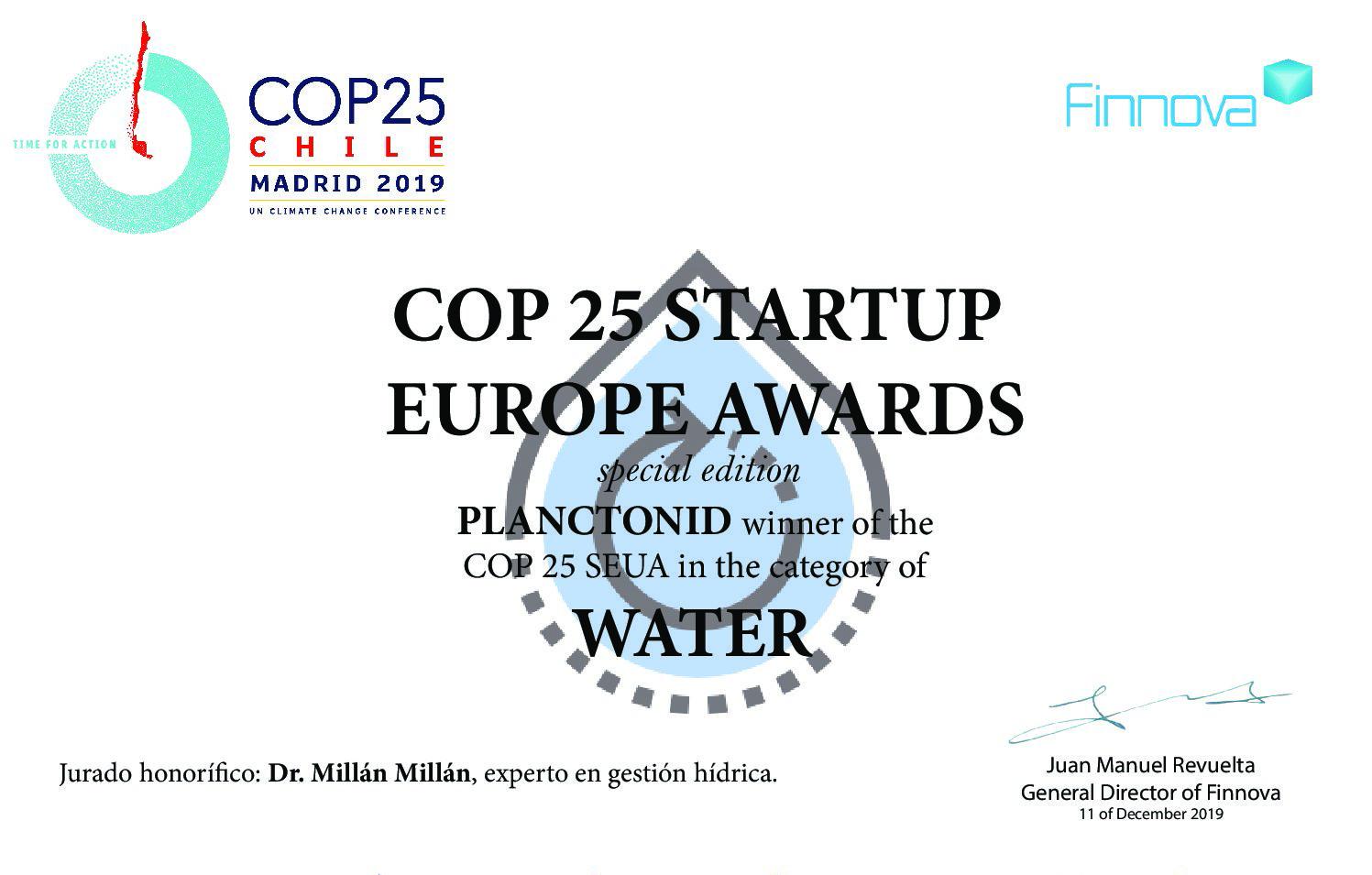 Planctonid : best European Start-Up…