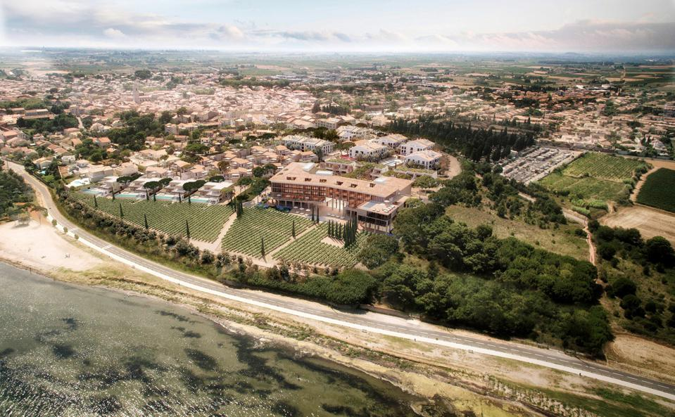 South Of France Gets A New Luxury Seafront Resort With Villas And Vineyard
